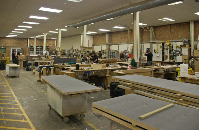 Large fully equipped Joinery Workshop
