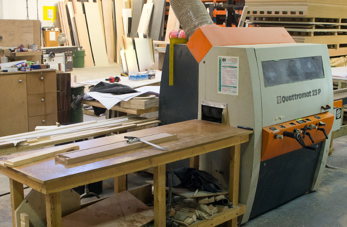 Quattromat 23 P Four Side Planer