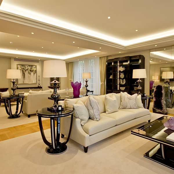 lounge-luxury residential refurbishment