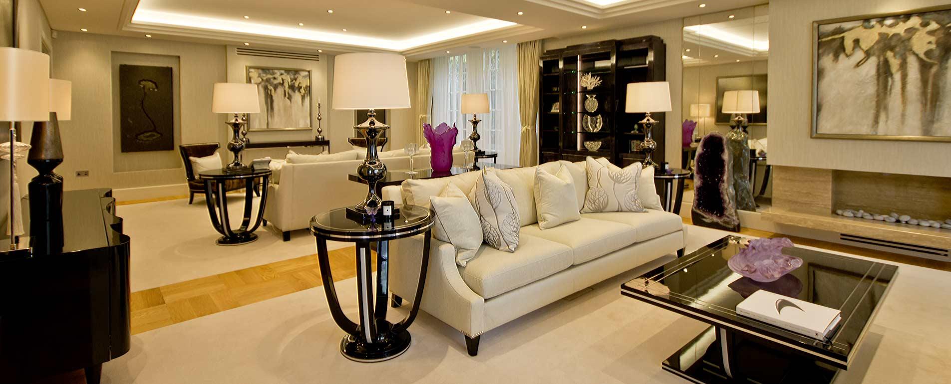 lounge luxury residential refurbishment